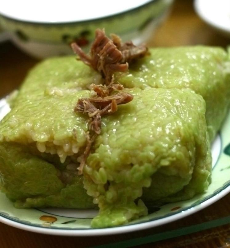 Vietnamese Tet Specialty: Homemade rice cake