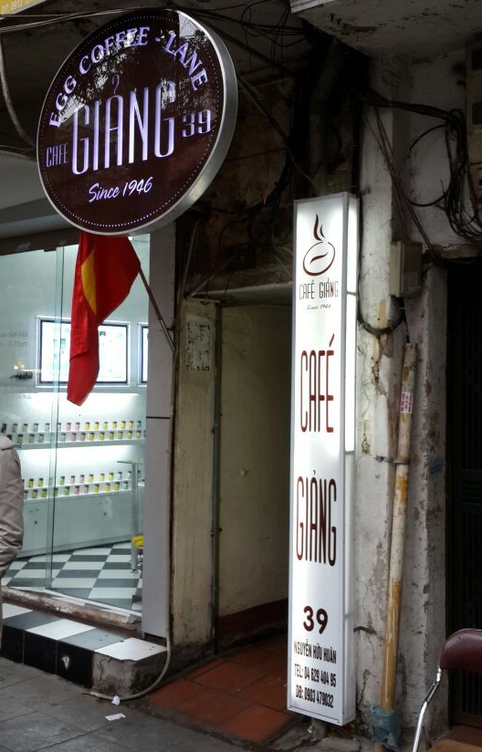 Hanoi's Best coffee shop: Cafe Giang
