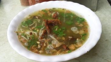 Hanoi Street Food: Eel Noodles