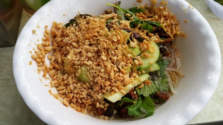 Hanoi Street Food: Mien Luon